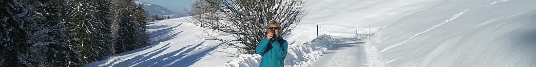 Hilde Oberstdorf Schnee