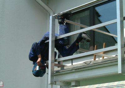 Balkon schweissen