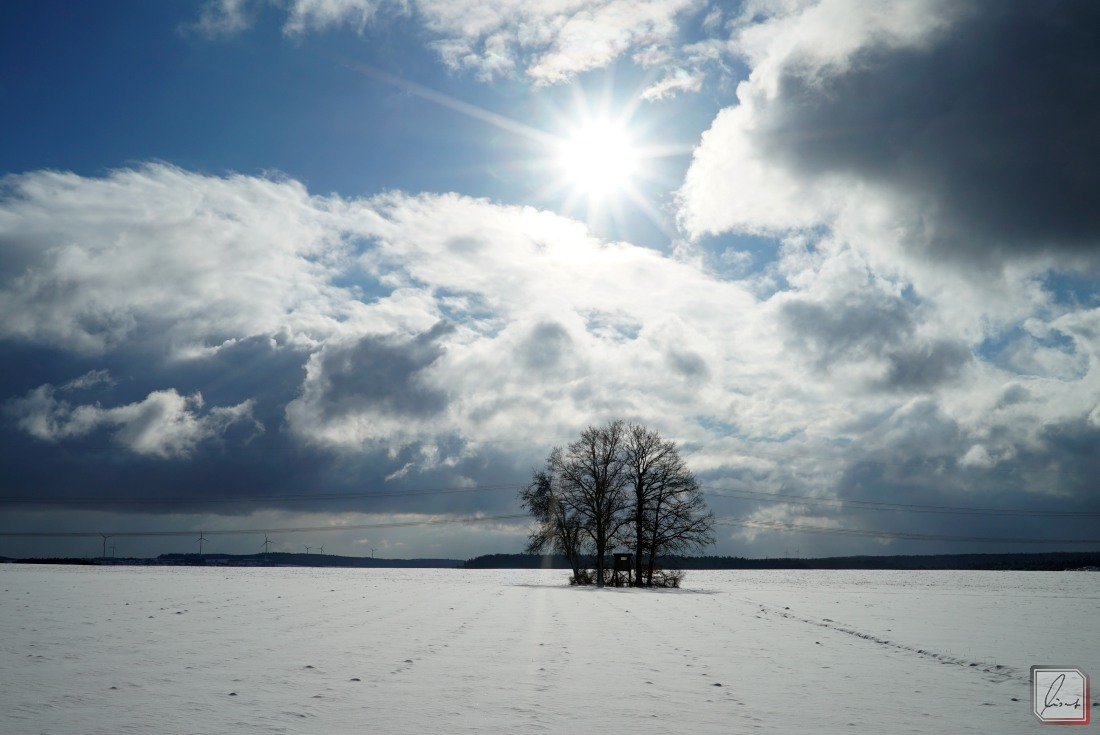 Winter auf der fränkischen Platte