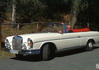 Ausflug mit dem 300 SE Cabriolet Oldtimer