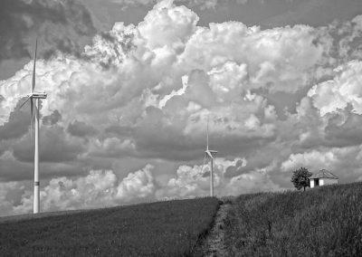 Windräder bei Ansbach