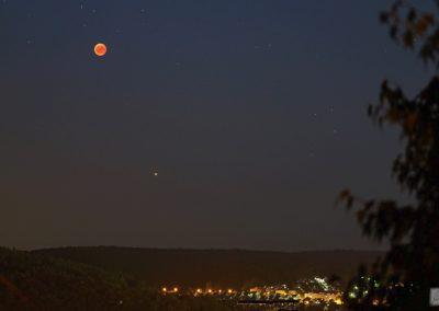 Mondfinsternis über Lohr